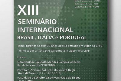 Chamada p/ envio de trabalhos – XIII Diálogo (Rio, Teramo, Lisboa)